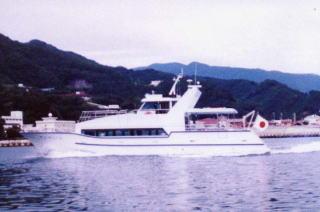 沿海型旅客パーティー船 千葉県船橋港