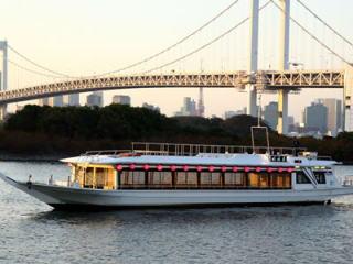 新型屋形船(その1) 東京お台場